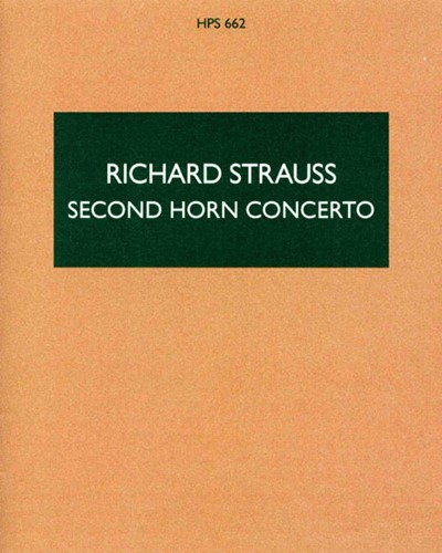 Horn Concerto No. 2 in E-flat, AV. 132