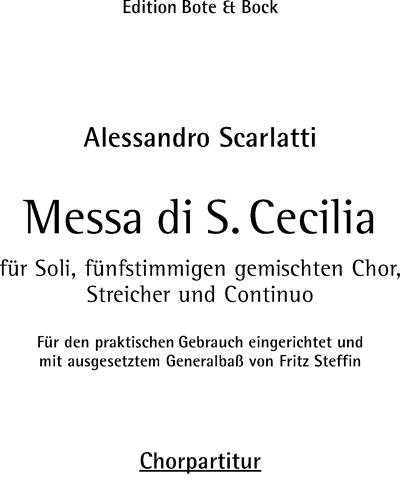 Messa di Santa Cecilia
