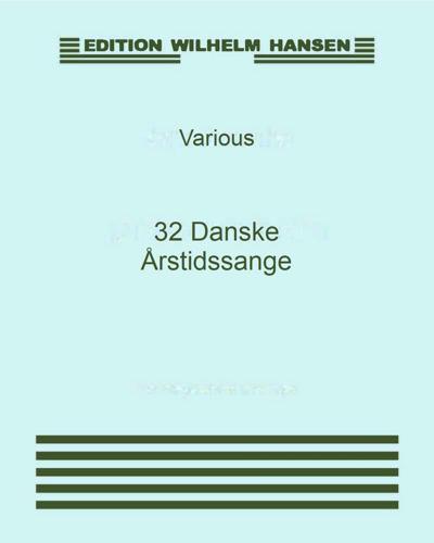 32 Danske Årstidssange