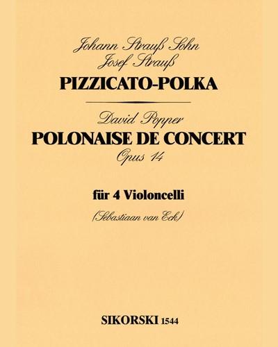 Pizzicato Polka / Polonaise de Concert