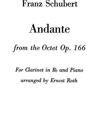 Andante (from Octet, op. 166)