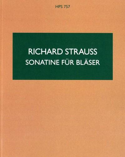 Sonatina für Bläser No. 1 in F, AV. 135
