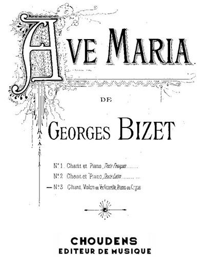 Ave Maria No. 3