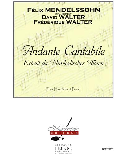 """Andante Cantabile (Extrait du """"Musikalisches Album"""")"""