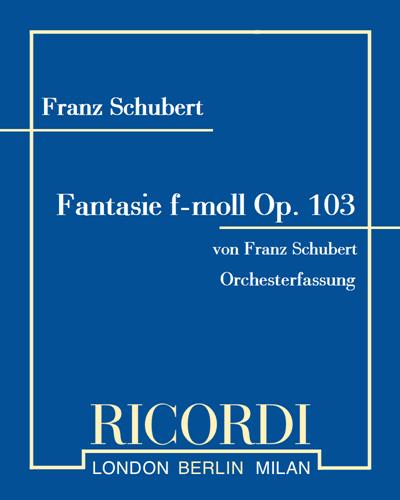 Fantasie f-moll Op. 103