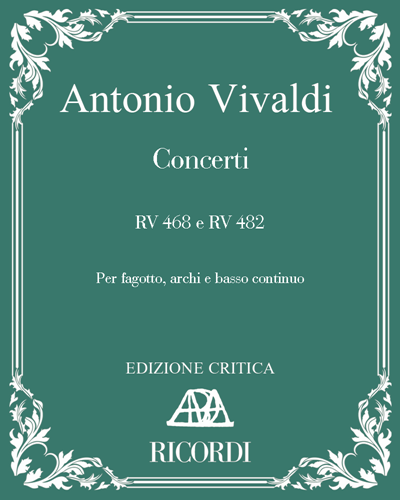 Concerti RV 468 e RV 482