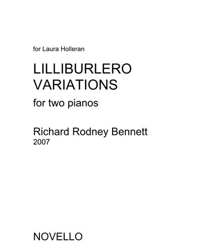 Lilliburlero Variations