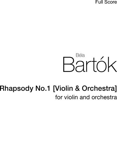 Rhapsody No. 1, Sz. 87