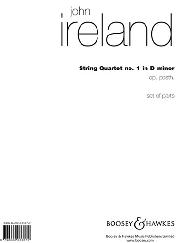 String Quartet No. 1 in D minor