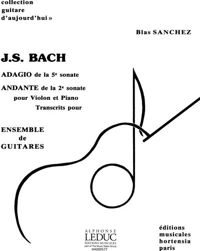 Adagio de la 5e Sonate pour Violon et Piano