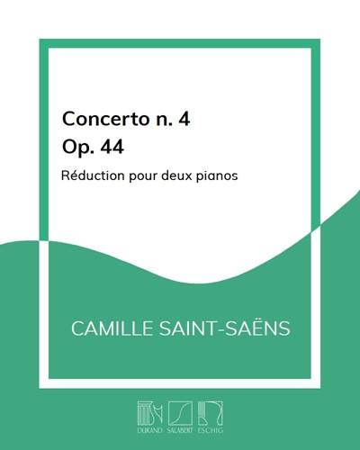 Concerto n. 4 en Ut mineur Op. 44 - Réduction pour deux pianos