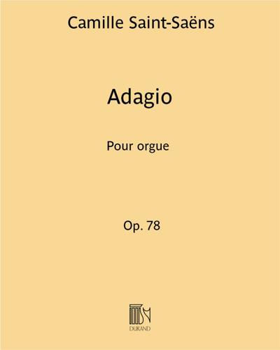 """Adagio (d'après le """"Symphonie n. 3 Op. 78"""")"""