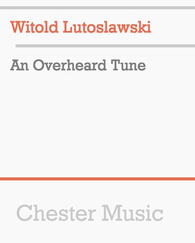 An Overheard Tune
