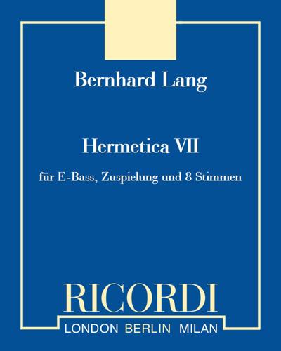 Hermetica VII