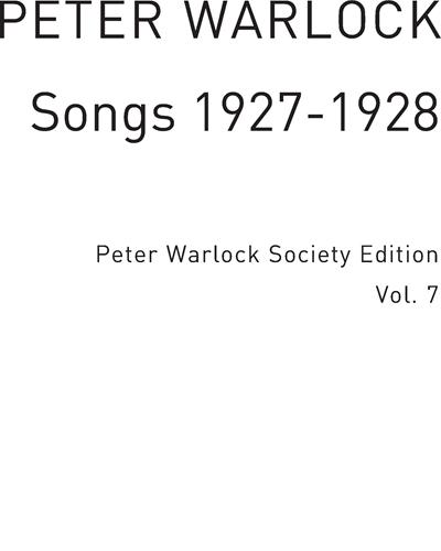 Songs 1927-1928 Vol. 7