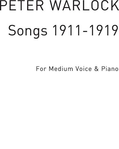 Songs 1911-1919 Vol. 2