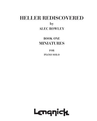 Heller Rediscovered, Book 1