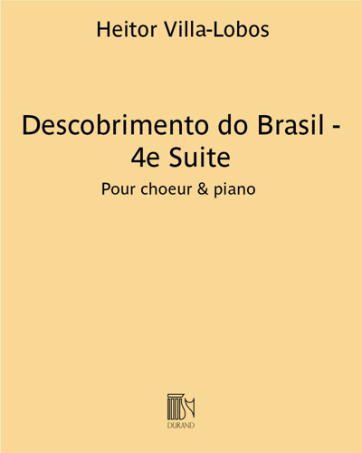 Descobrimento do Brasil - 4e Suite