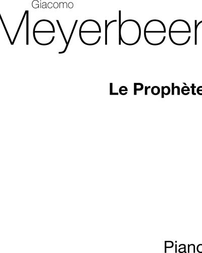 Le Prophète for Piano