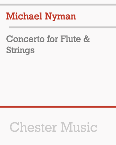Concerto for Flute & Strings