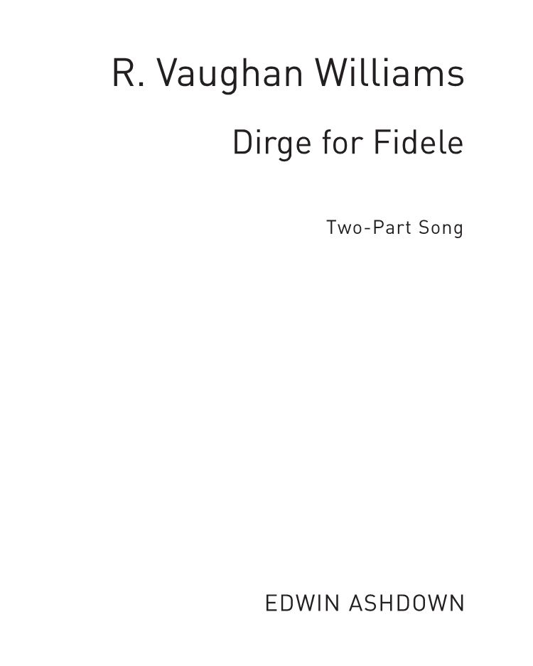 Dirge for Fidele