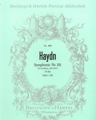 Symphonie Nr. 101 D-Dur Hob I:101