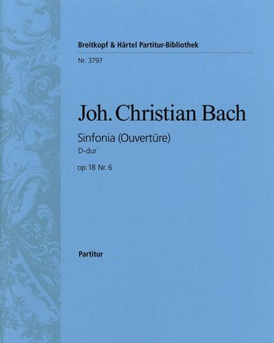 Sinfonia D-dur op. 18 Nr. 6 - Ouvertüre