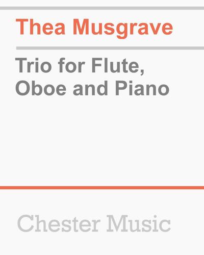 Trio for Flute, Oboe and Piano