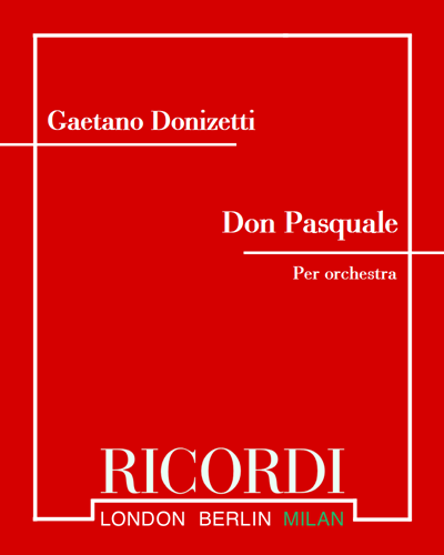 Don Pasquale - Sinfonia