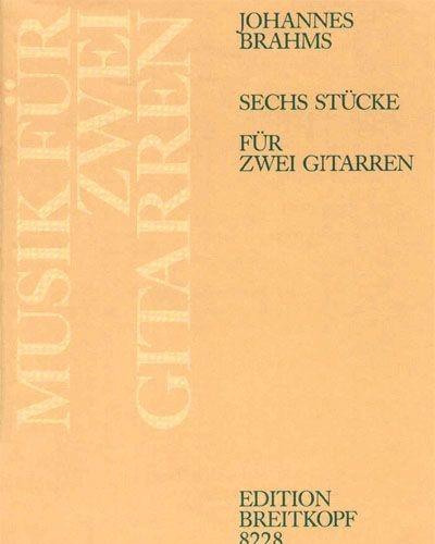 6 Stücke aus op. 76, 116, 118