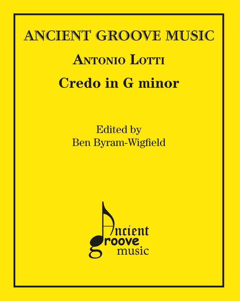 Credo in G minor