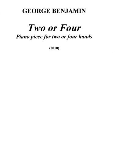 Two or Four