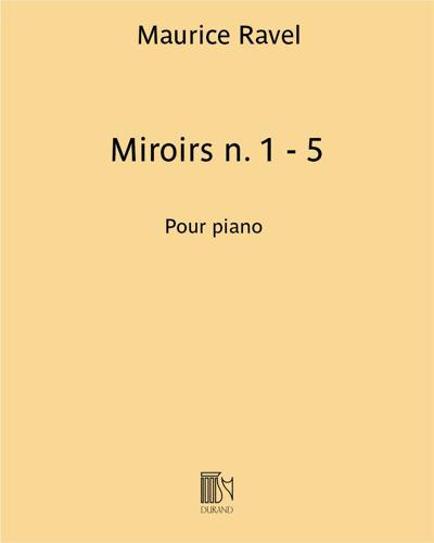 Miroirs n. 1 - 5