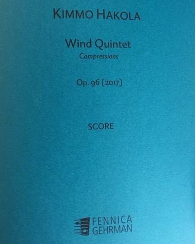 Wind Quintet, op. 96