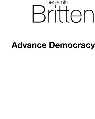 Advance Democracy