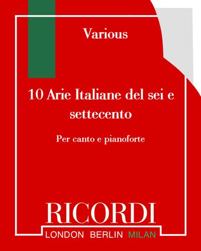 10 Arie Italiane del sei e settecento