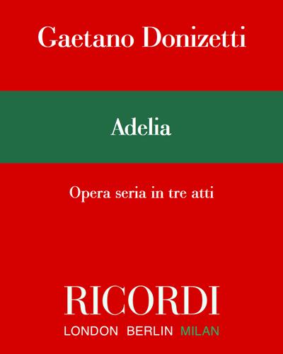 Adelia - Edizione Critica
