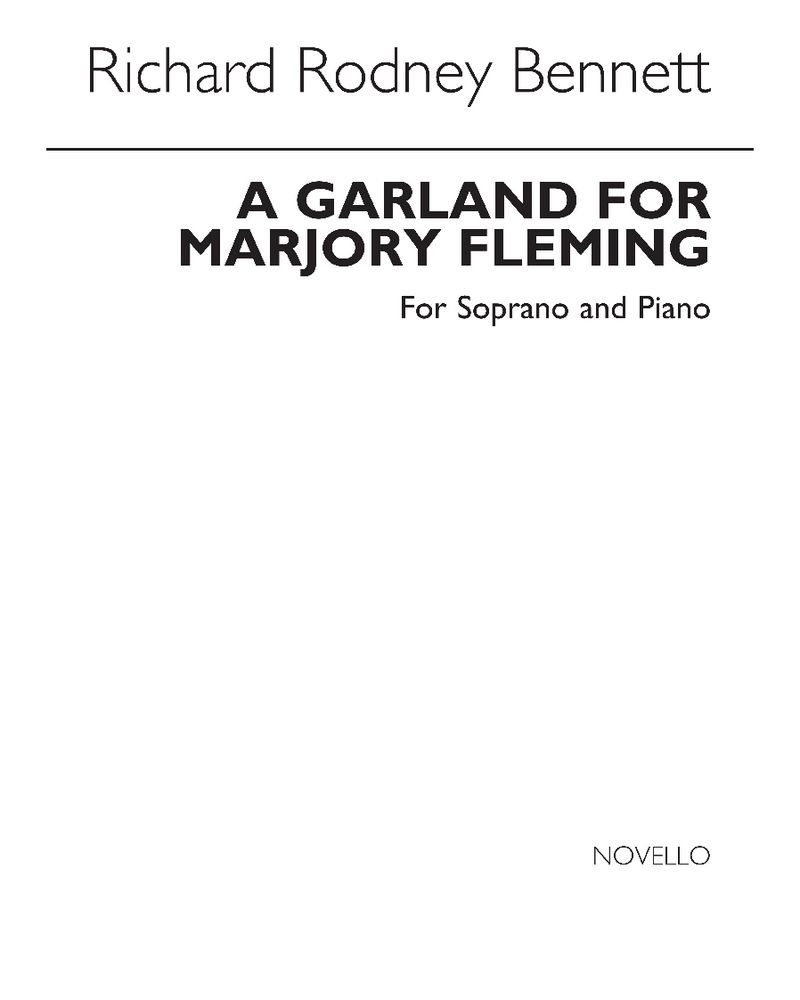 A Garland for Marjory Fleming