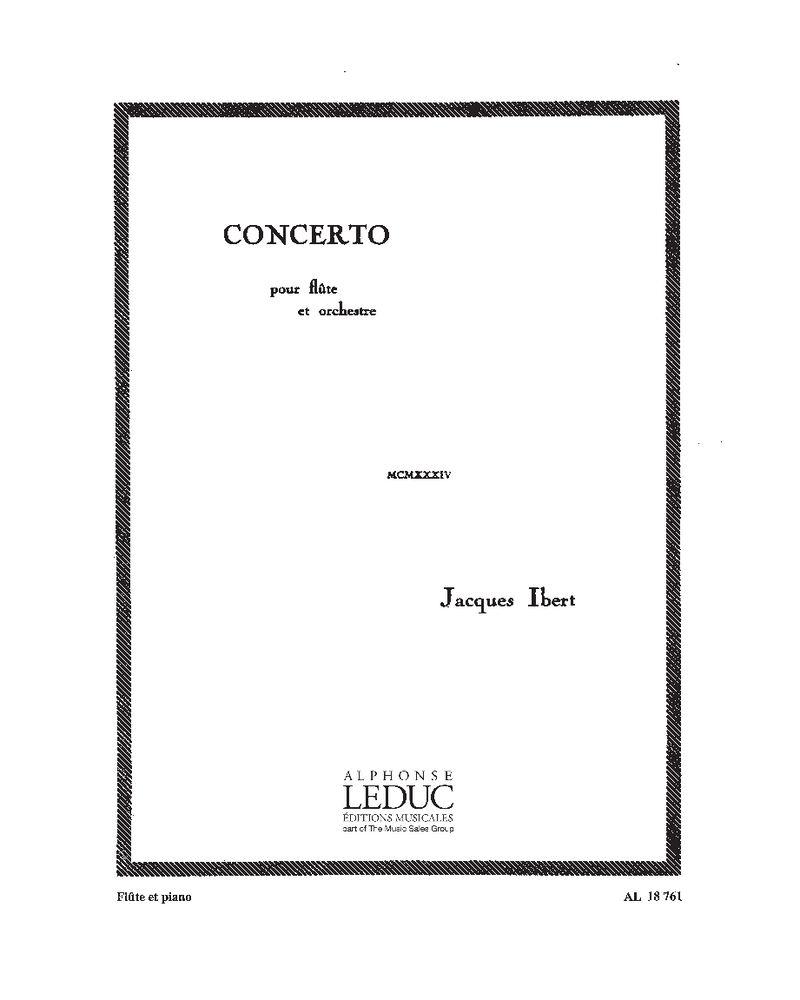 Concerto pour flûte et orchestra