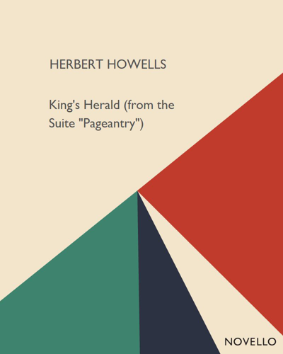 "King's Herald (from the Suite ""Pageantry"")"