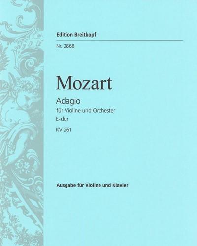 Adagio E-dur KV 261
