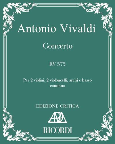 Concerto RV 575