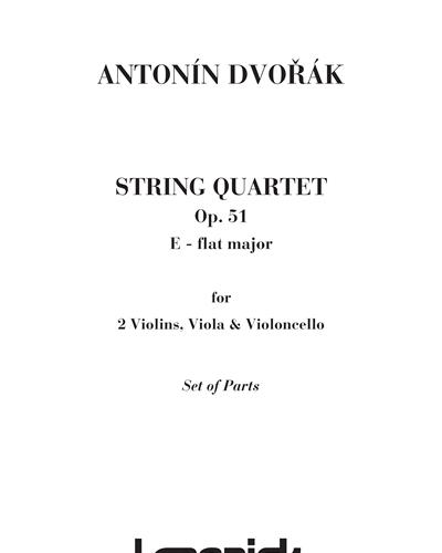 String Quartet in E b Major Op. 51