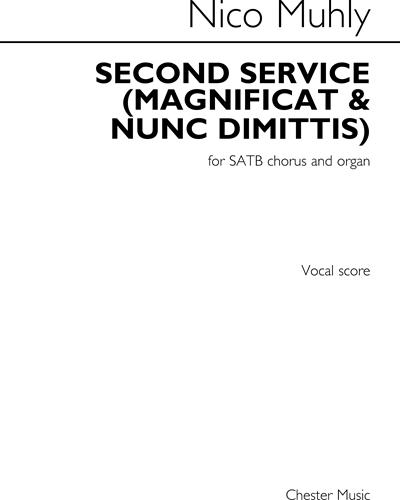 Second Service: Magnificat & Nunc Dimittis