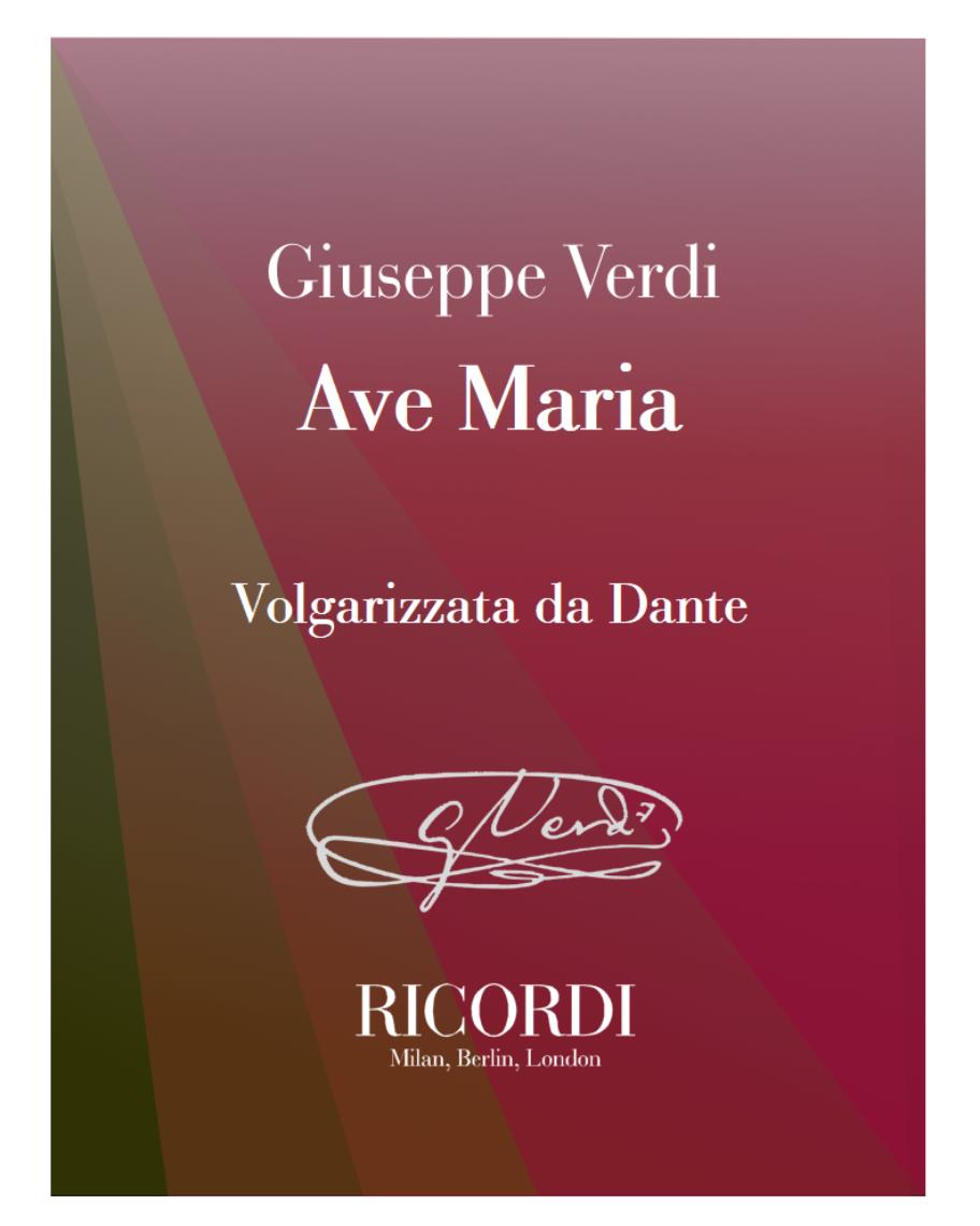 Ave Maria - Volgarizzata da Dante