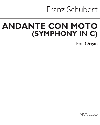 """Andante con Moto (from """"Symphony in C"""")"""