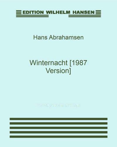 Winternacht [1987 Version]