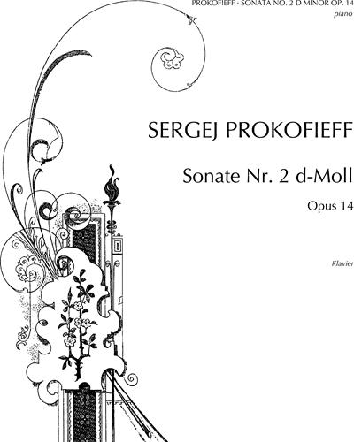 Piano Sonata No. 2 in D minor, op. 14