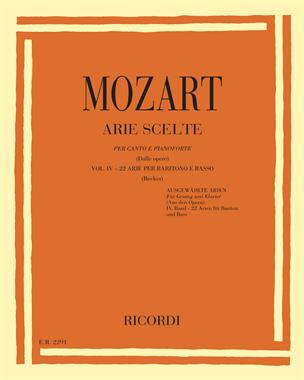 Arie scelte (dalle opere) Vol. 4 - 22 arie per baritono e basso