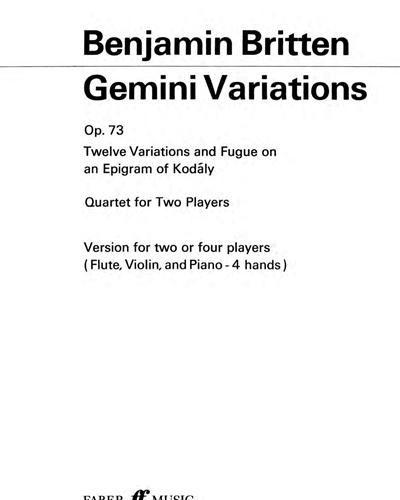 Gemini Variations